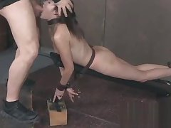 Eden Sin submissive bdsm roger with girl