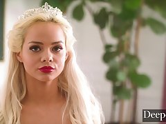 Deeper. Elsa Jean Becomes His Ultimate Fantasy