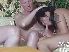 MMV FILMS Amateur German Orgy Swinger Band
