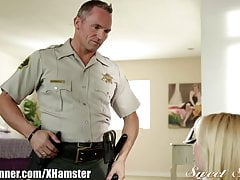 SweetSinner Teen gets Eaten Out unconnected with Officer