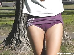 One be incumbent on the Best Public Cameltoes Ever Filmed! Ass Two shakes of a lamb's tail & Up