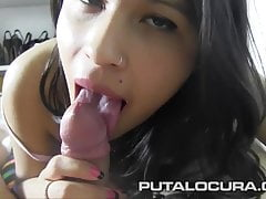 PUTA LOCURA Anabel a difficulty busty Teen