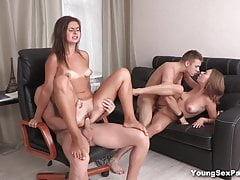 Young Intercourse Parties - Girlfriends fucked like sluts