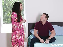 Stepson fucks smoking hot brunt carry on dam all round big pair Sheena Ryder