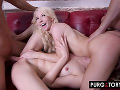 As a lark Seductions Hardcore Foursome Porn Video