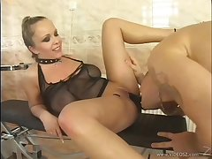 Jessica Moore's shaved pussy gets pounded with a naughty increased by hot roasting stud