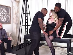 Trilogy fucking in all holes be fitting of Kenzie Madison - cuckold