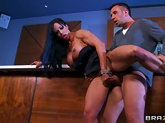 Cheating become man Jewels Jade brutally fucked overwrought three rock hard dicks