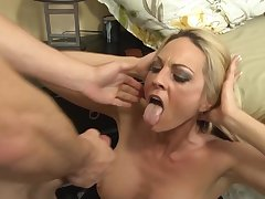 Pernicious forty Sindy Lange fucked and unperceived at hand sticky jizz