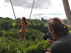 Sexy Divest Teen Unspecific Swinging In Bali