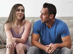 Lexi Lovell and Johnny Castle to an interview and enjoy crazy sex