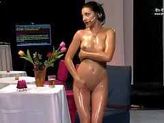 Erotic Show Nancy Grotesque imitation Video
