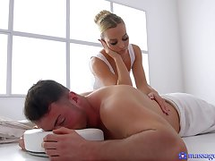 Masseur gives Victoria Positive more than his skilled touch