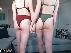 Tushy Raw Anal BFF's Love Lingerie & Pest Screwing Gaping