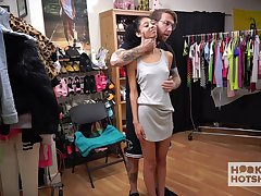 Submissive chick Jada Doll has to housing clothes as her scantling wants