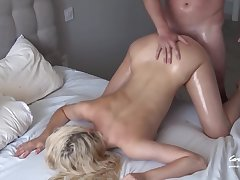 Fucking My Daughter Friend. Bitch Keep Flirting With Me - Hard Fuck Loud Moanings