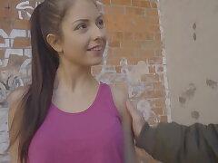 Italian hottie Rebecca Volpetti first anal sex on camera!