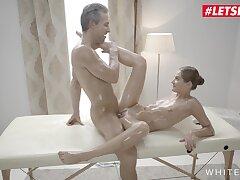 Tiffany Tatum Gorgeous Hungarian Teen Oily Massage Sex