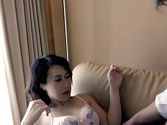 Japanese amateur spreads her legs take abhor fucked in shaved puss