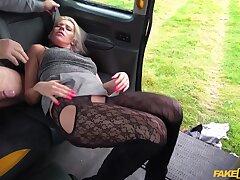 Fake Taxi - Horny Tourist Masturbates In Taxi-cub 2 - John